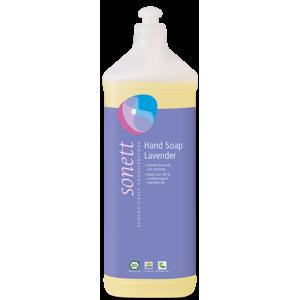 Sonett Tekuté mýdlo - levandule BIO (1 l) - AKCE sleva za poškozenou etiketu