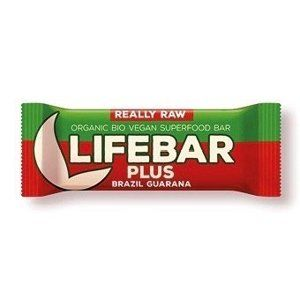Lifefood Lifebar Plus - brazilská s guaranou RAW/BIO (47 g)