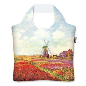 Ecozz EcoShopper Gold Collection - Tulip fields in Holland (Claude Monet)