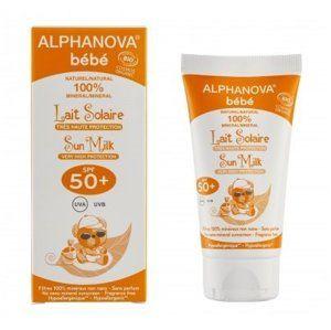 Alphanova Sun Opalovací mléko pro miminka SPF 50+ BIO (50 ml)