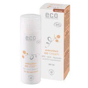 Eco Cosmetics CC krém SPF 30 BIO - dark (50 ml) komplexní péče pro vaši pleť
